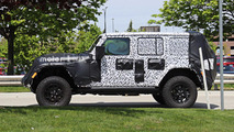 Jeep Wrangler Spy Photos