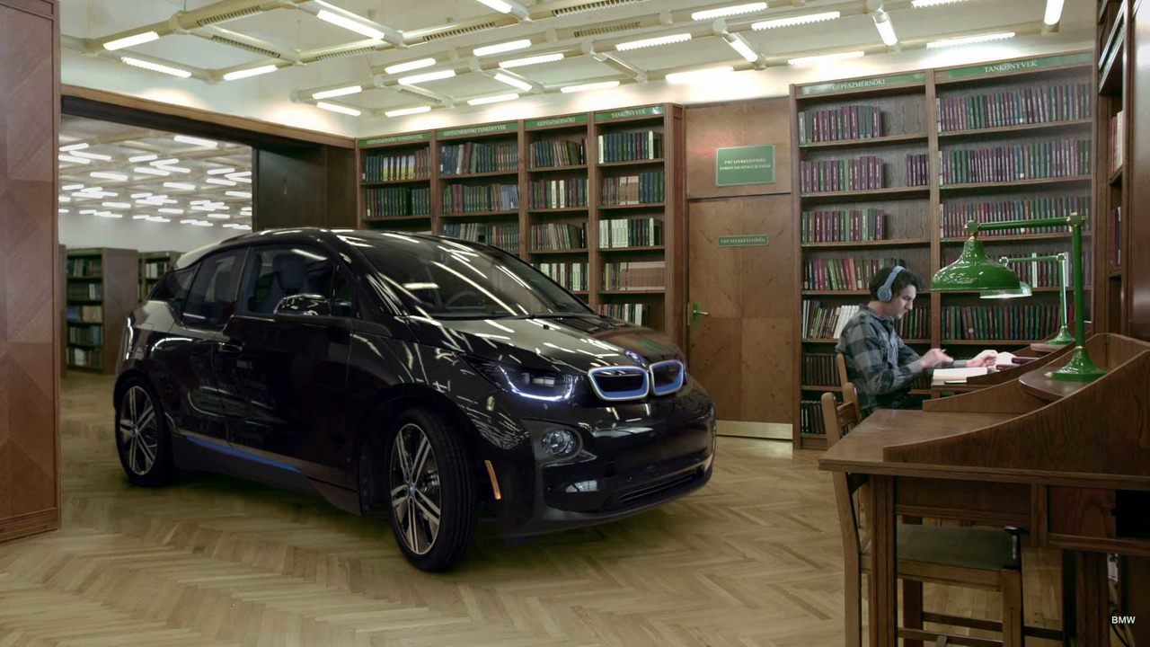 BMW i3 screenshot from the new ad