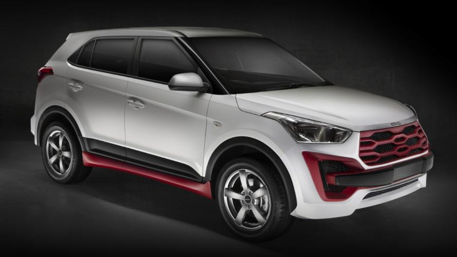 Hyundai Creta fica com visual