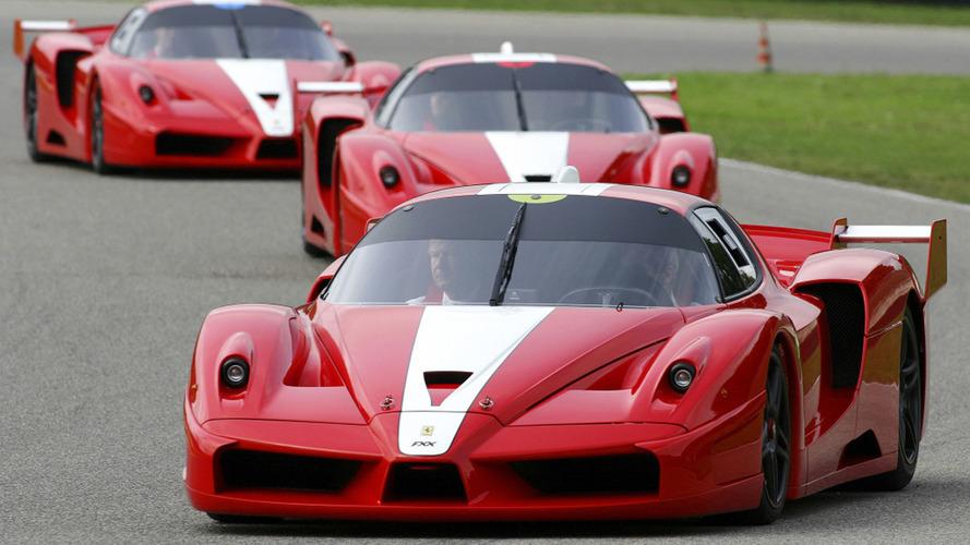 VIDÉO - Écoutez ces Ferrari FXX rugir sur le circuit du Mugello