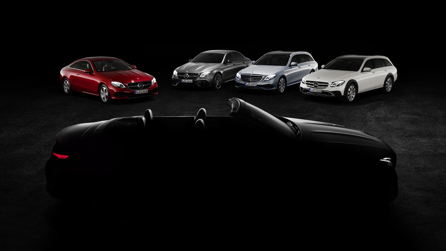 Mercedes in Geneva: E-Class Cabriolet and a new AMG showcar