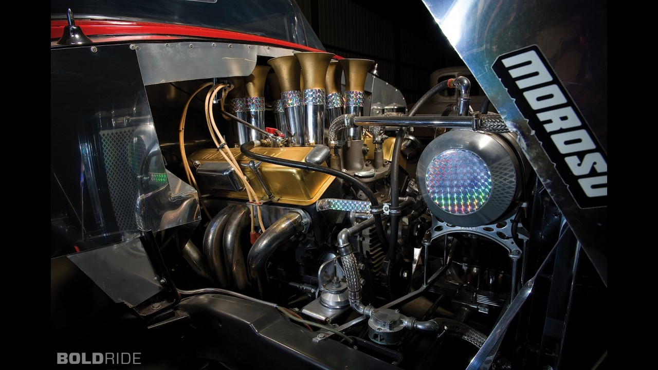 Chevrolet Millers Beauty F Gas Drag Racing Car