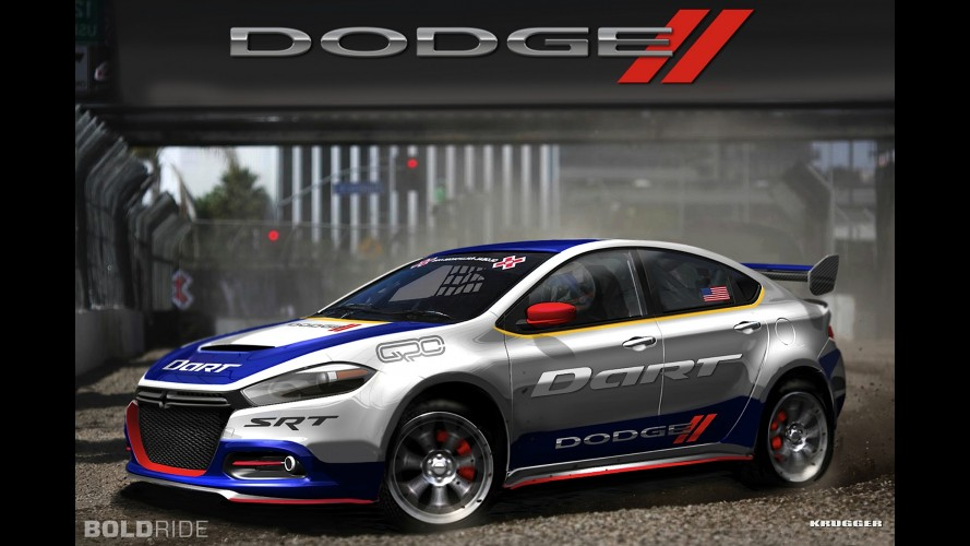 Dodge Dart Rally Car