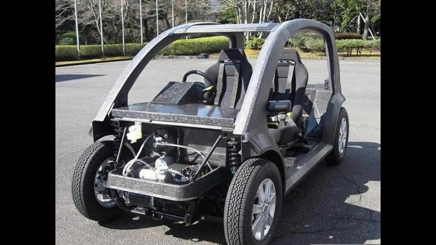 Japoneses produzem carro em fibra de carbono em menos de um minuto
