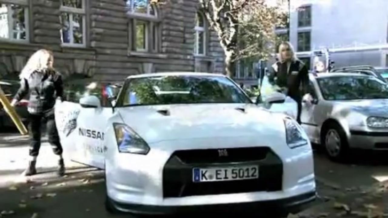 VÍDEO: Nissan também apronta na Alemanha