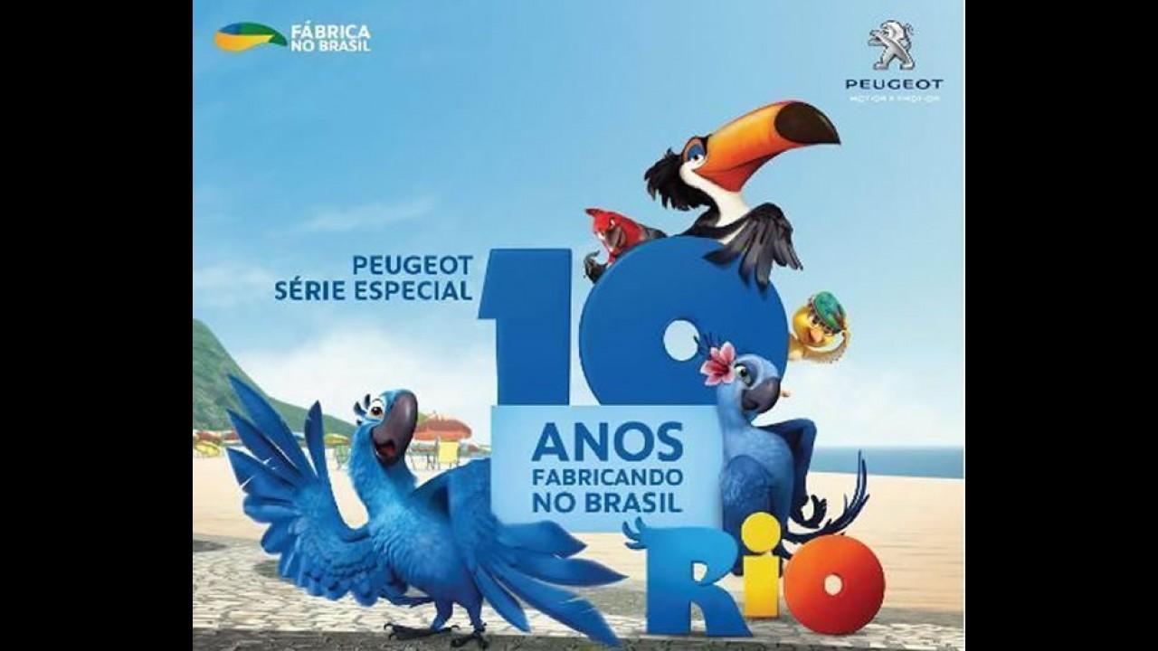 Peugeot comemora 10 anos de fabricação no Brasil com série especial