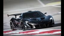 McLaren revela impressionante interior do P1 GTR - veja fotos