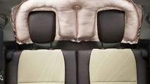 Toyota SRS rear window curtain airbag