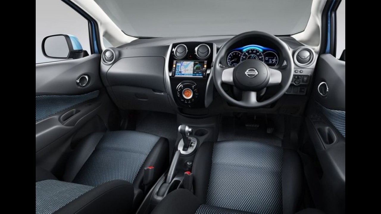 Nissan Note 2013 é revelado - Visual deve inspirar a futura Livina