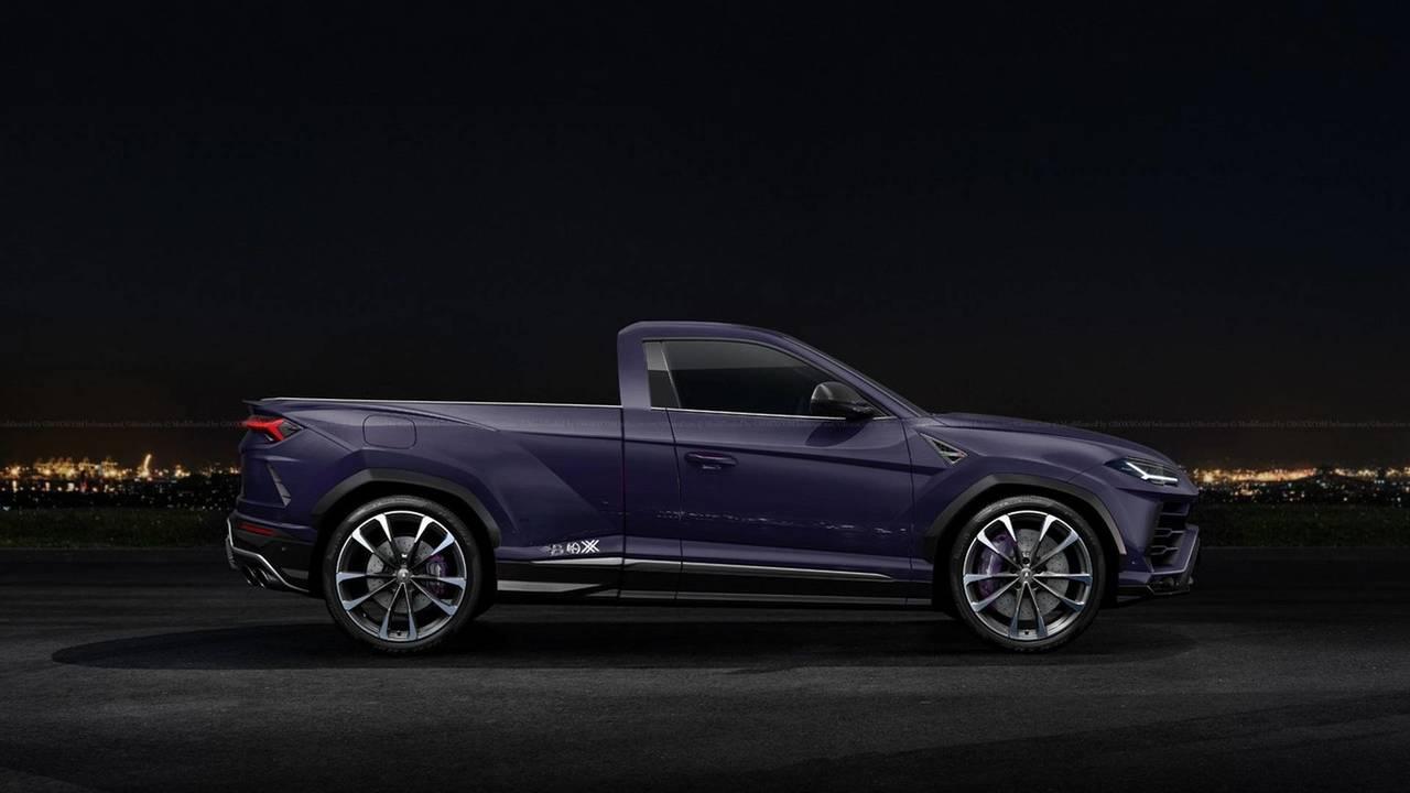 Lamborghini Urus pick-up render