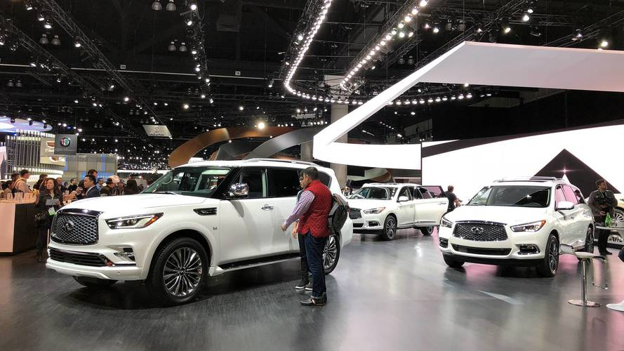 Why Infiniti's L.A. Auto Show Stand Only Has SUVs