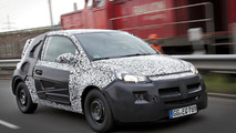 Opel Adam test prototype official photo 08.05.2012