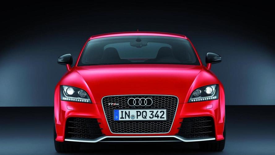 2012 Audi TT RS Plus revealed