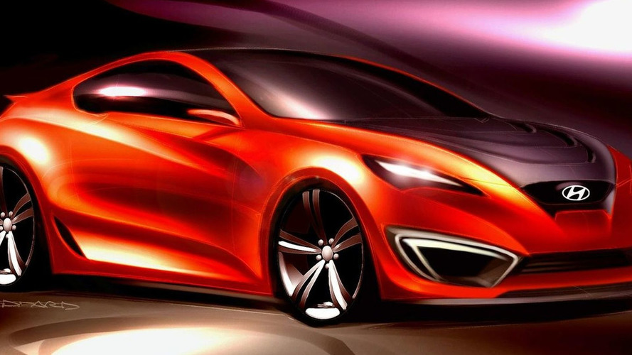 First Look: Hyundai Concept Genesis Coupe