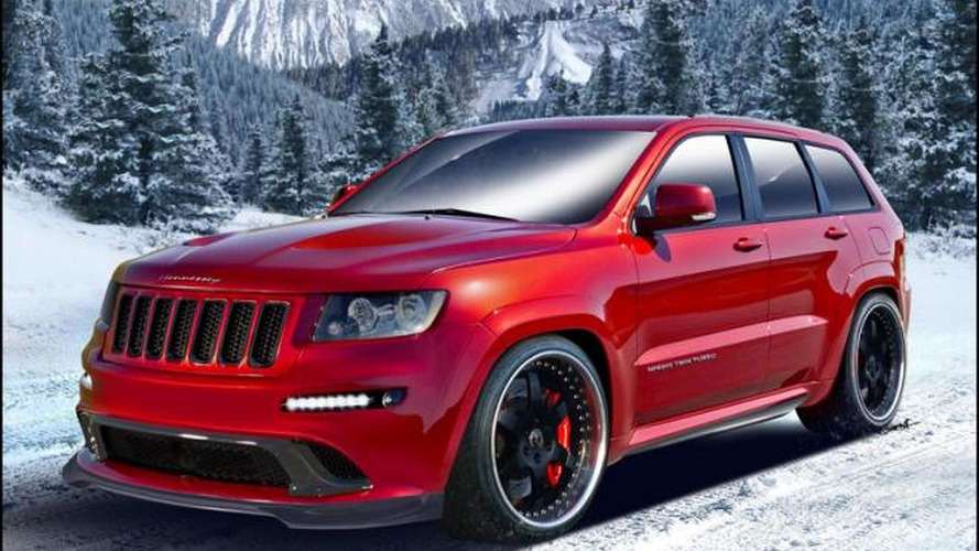 Hennessey previews Jeep Cherokee Twin Turbo with 800hp