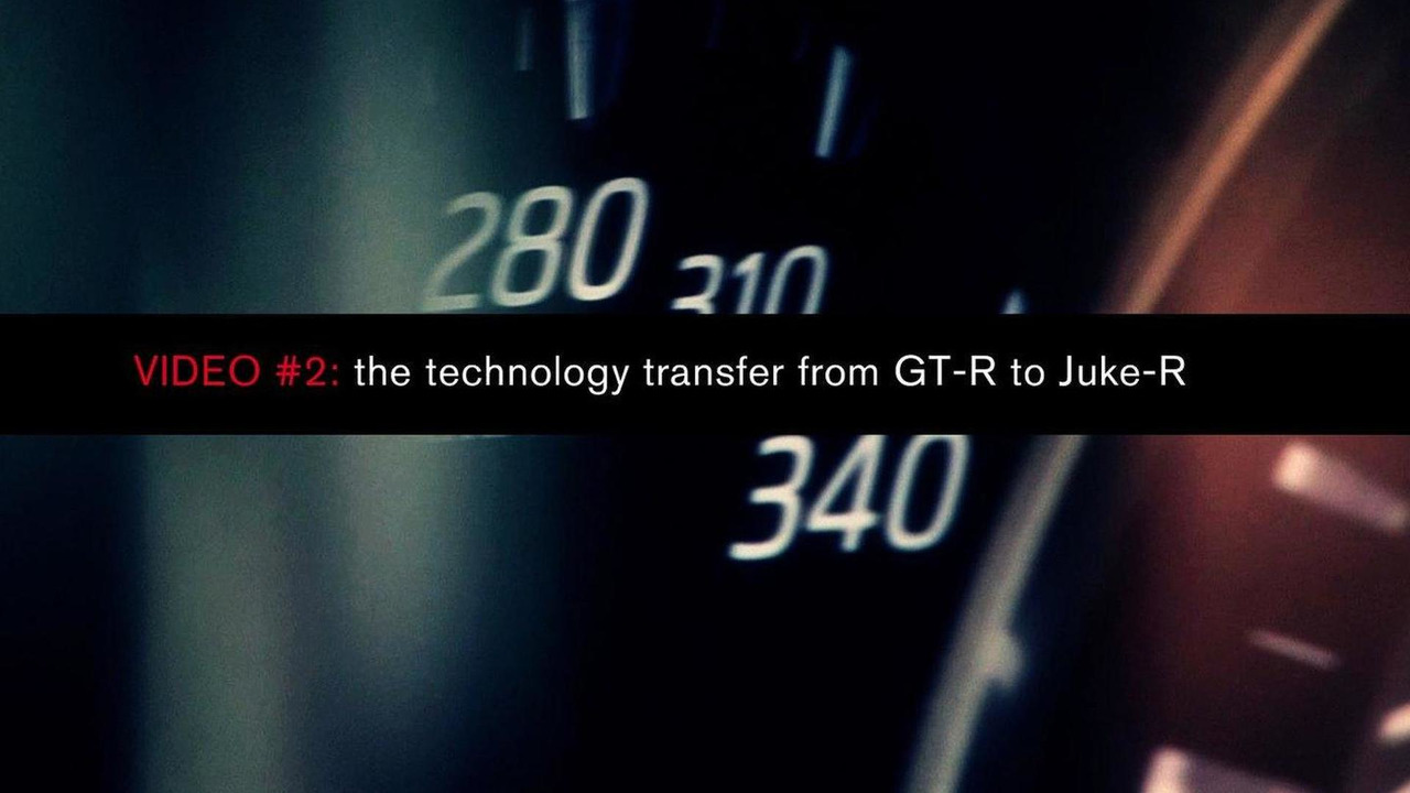Nissan Juke-R one-off performance concept teaser 11.10.2011
