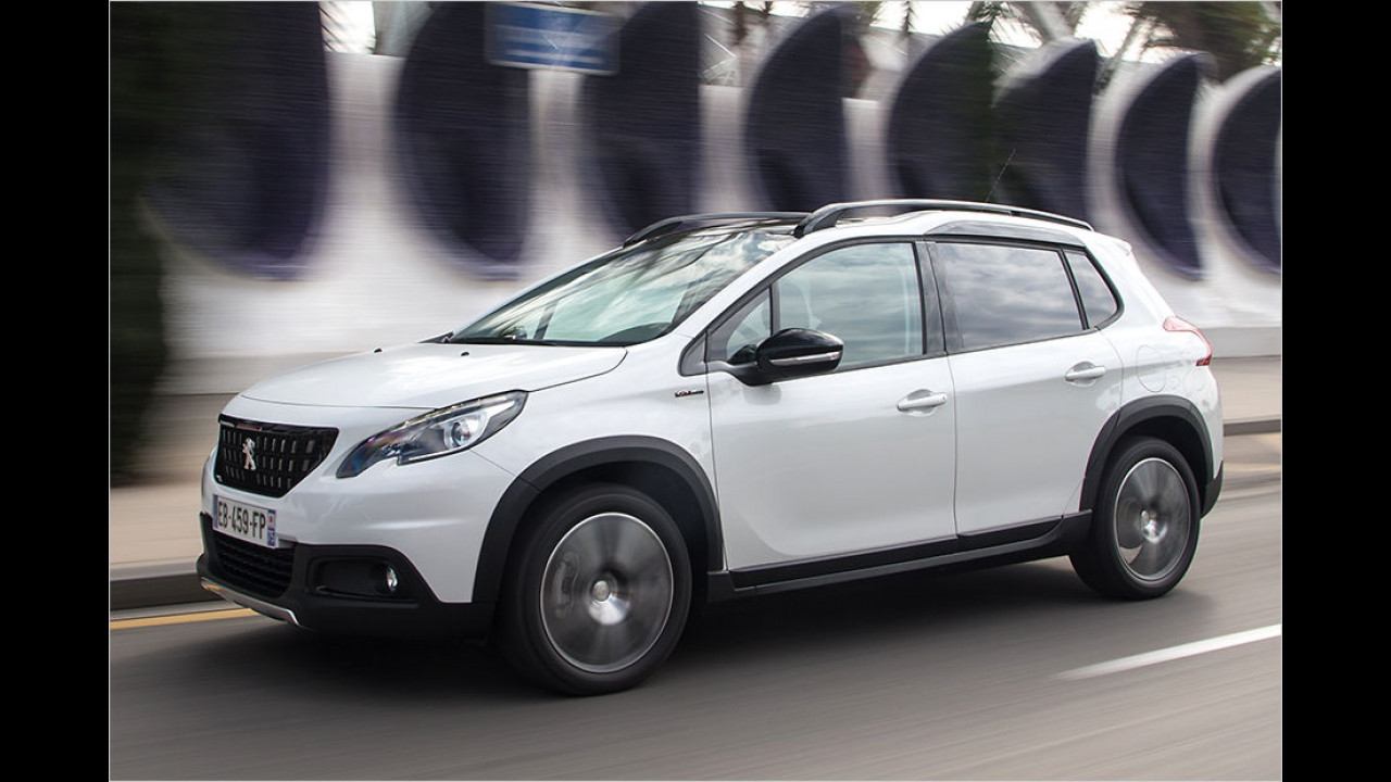 Unterwegs im neuen Peugeot 2008