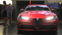 Alfa Romeo Giulia QV 2016 Mondial de l'Automobile