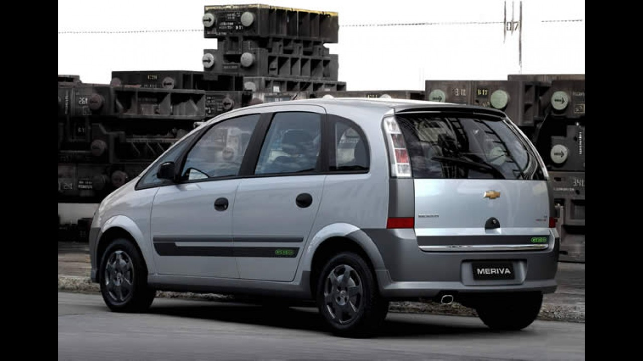 Chevrolet lança séries especiais Celta e Corsa Energy e Meriva Geo
