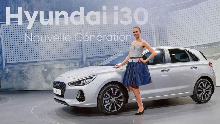 hyundai i30 european production begins market launch in. Black Bedroom Furniture Sets. Home Design Ideas