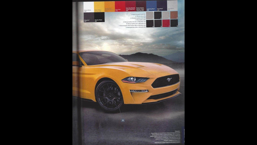 2018 ford order guide. delighful ford 2018 ford mustang order guide intended ford order guide u