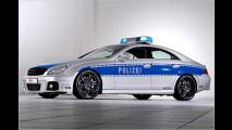 Getunter Polizei-BMW