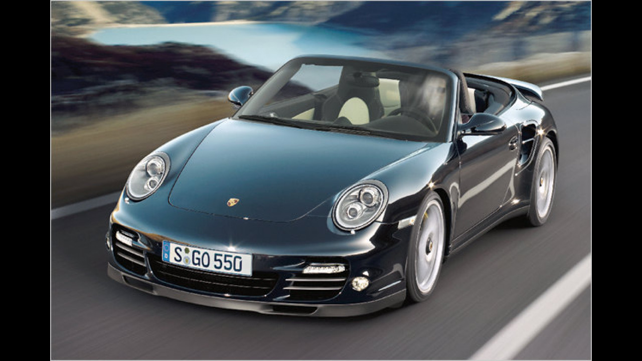 Porsche 911 Turbo S Cabrio PDK