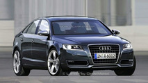 2010 Audi A6 rendering