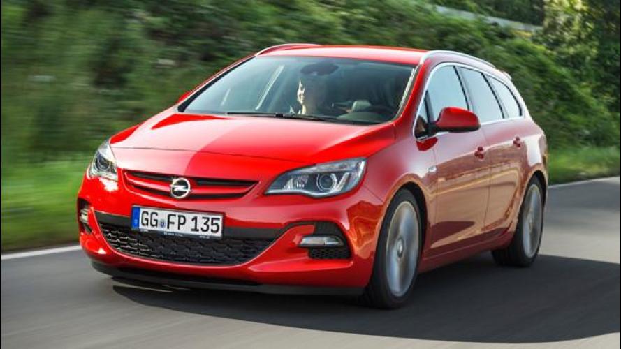 Opel Astra 2.0 BiTurbo CDTI Sports Tourer, la potenza facile
