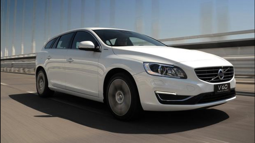 Volvo V60 Diesel Plug-In Hybrid, il futuro è già su strada