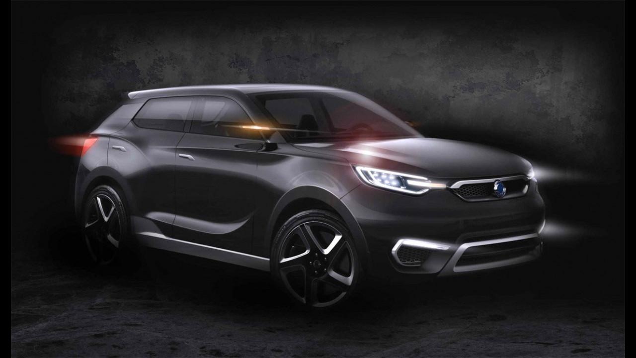 SsangYong SIV-1 Concept, i primi teaser