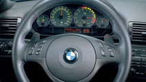 BMW M3 SMG paddle controls