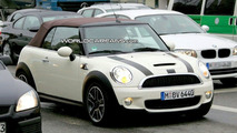 MINI Cooper S Convertible spy photos