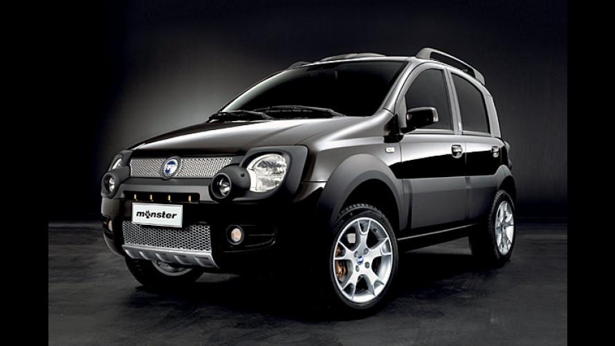 Cross-Fiat: Der neue Panda wird zum schwarzen Monster