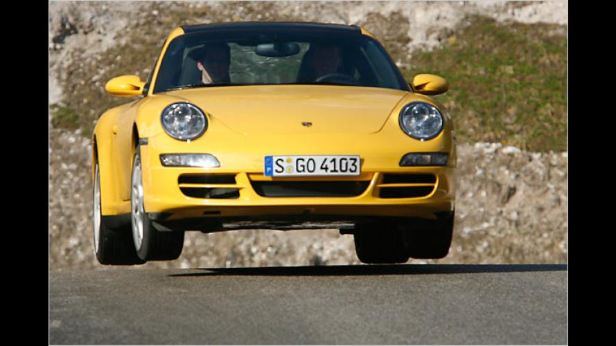 Still crazy after all these years: Im Porsche mit Walter Röhrl