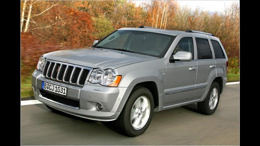 Angst-Vernichter: Der neue Jeep Grand Cherokee im Test