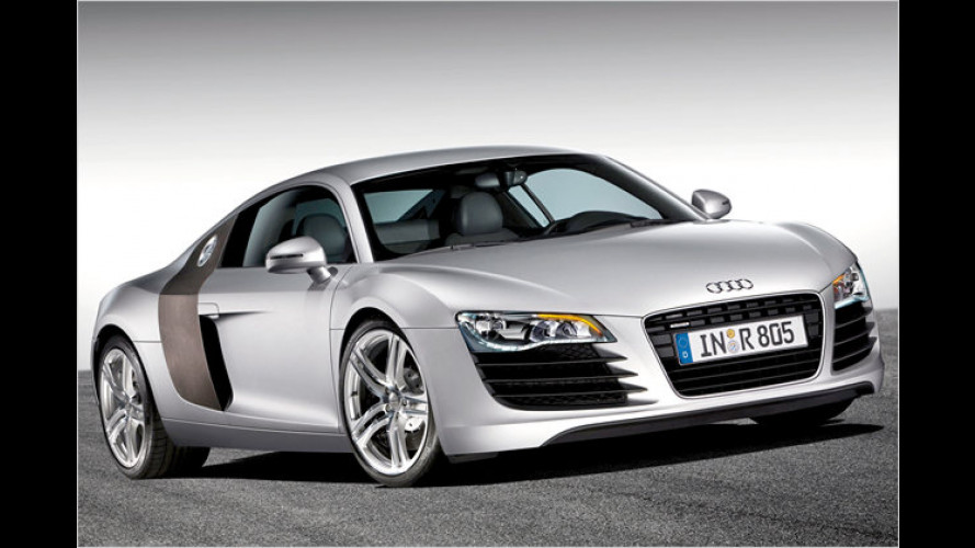 Audi R8: Reinrassiger Straßensportler geht in Serie