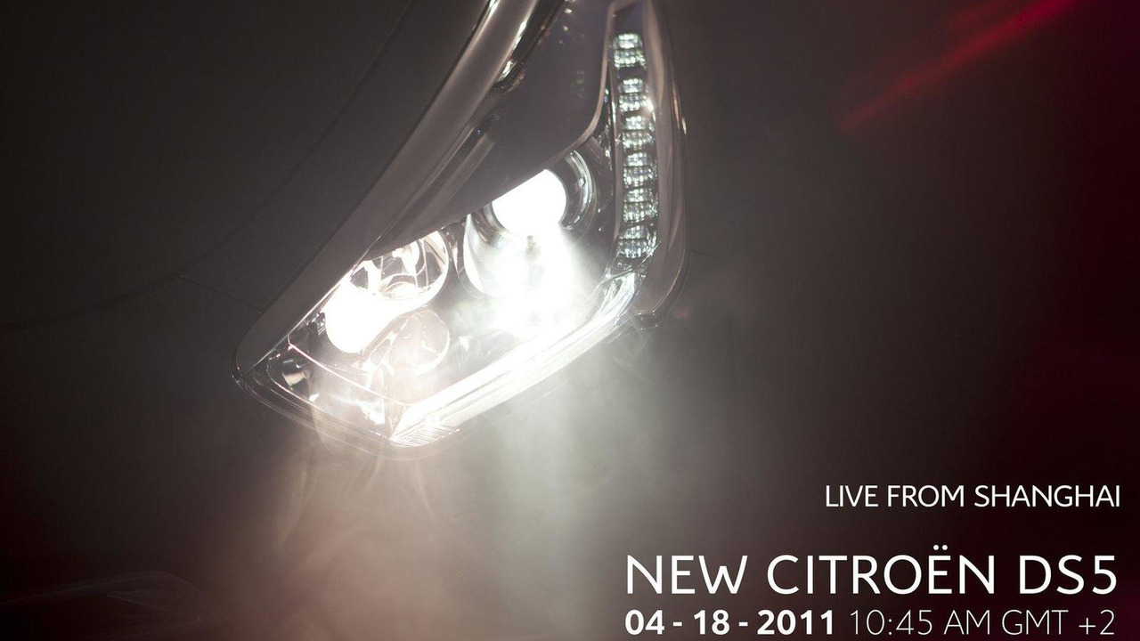 Citroen DS5 teaser ahead of Shanghai 13.04.2011