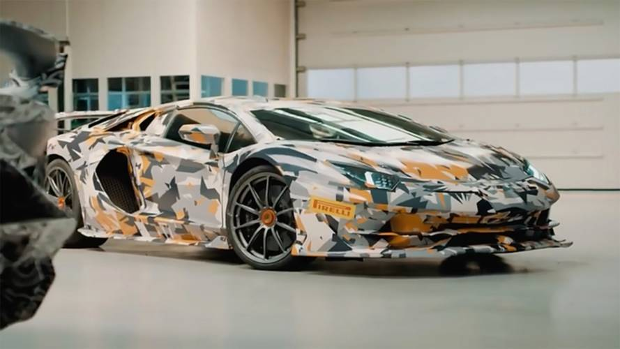 Lamborghini Aventador SVJ Meets The Nürburgring In Latest Teaser