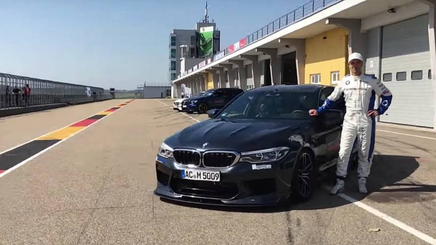 Watch AC Schnitzer's 700-HP BMW M5 Take Down A Track Record