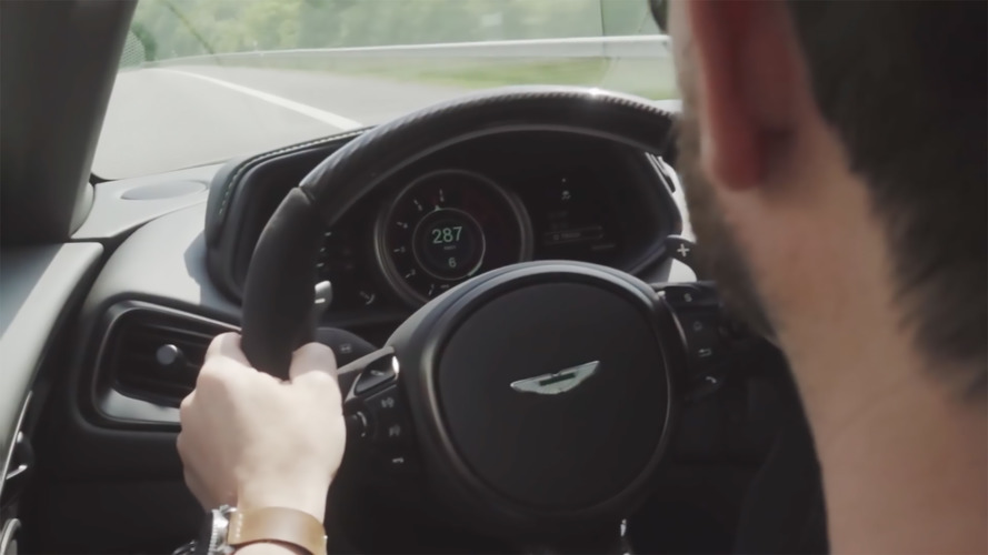Watch This Aston Martin DB11 AMR Hit 178 MPH On German Autobahn
