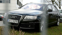 Audi A6 Facelift spy photos