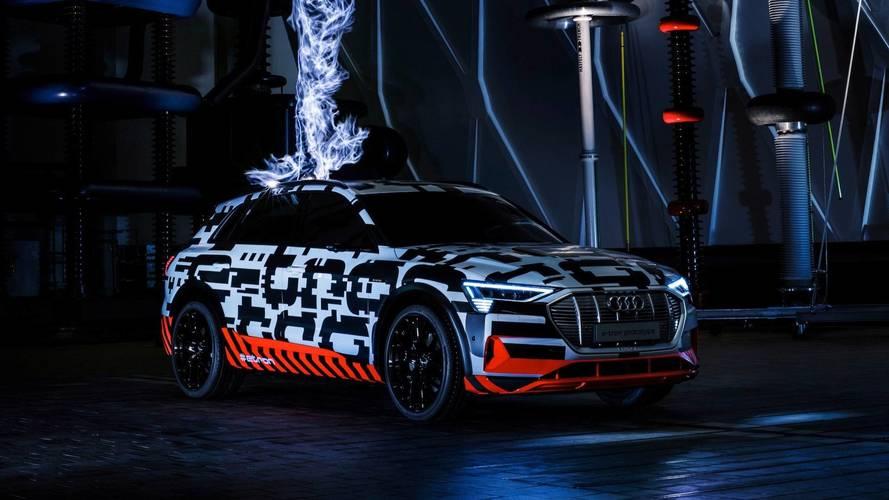 Audi e-tron, 400 km di autonomia in 30 minuti