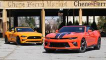Chevy Camaro SS Vs. Ford Mustang GT: Top Down Tussle