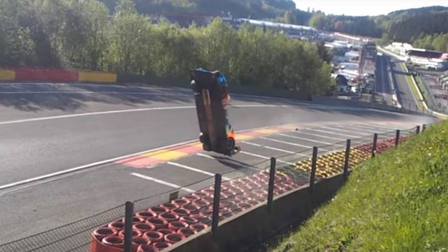 footage emerges of terrifying crash during wec race at spa. Black Bedroom Furniture Sets. Home Design Ideas