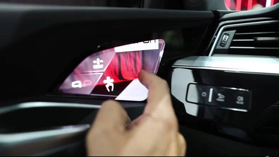 Audi'nin dijital aynalarının nasıl çalıştığını görün
