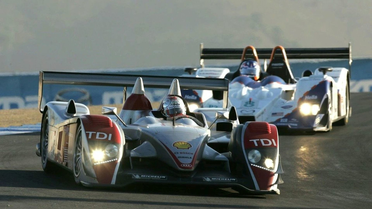 Audi R10 in Le Mans 24 Hours Race