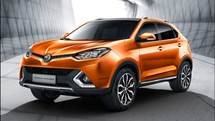 MG GS, il SUV