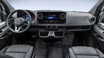 Mercedes-Benz Sprinter iç mekan teaser