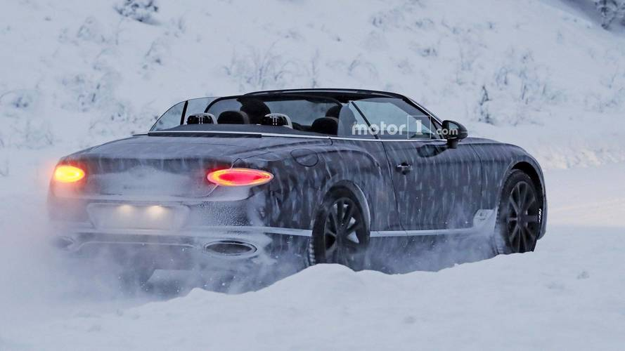 New Bentley Continental GTC Goes Topless In A Winter Wonderland